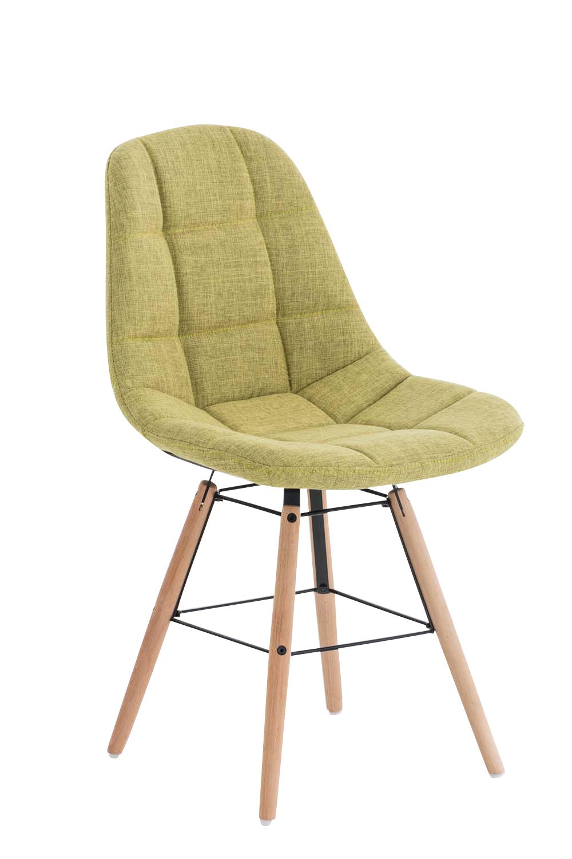 Jídelní židle Toronto textil zelená