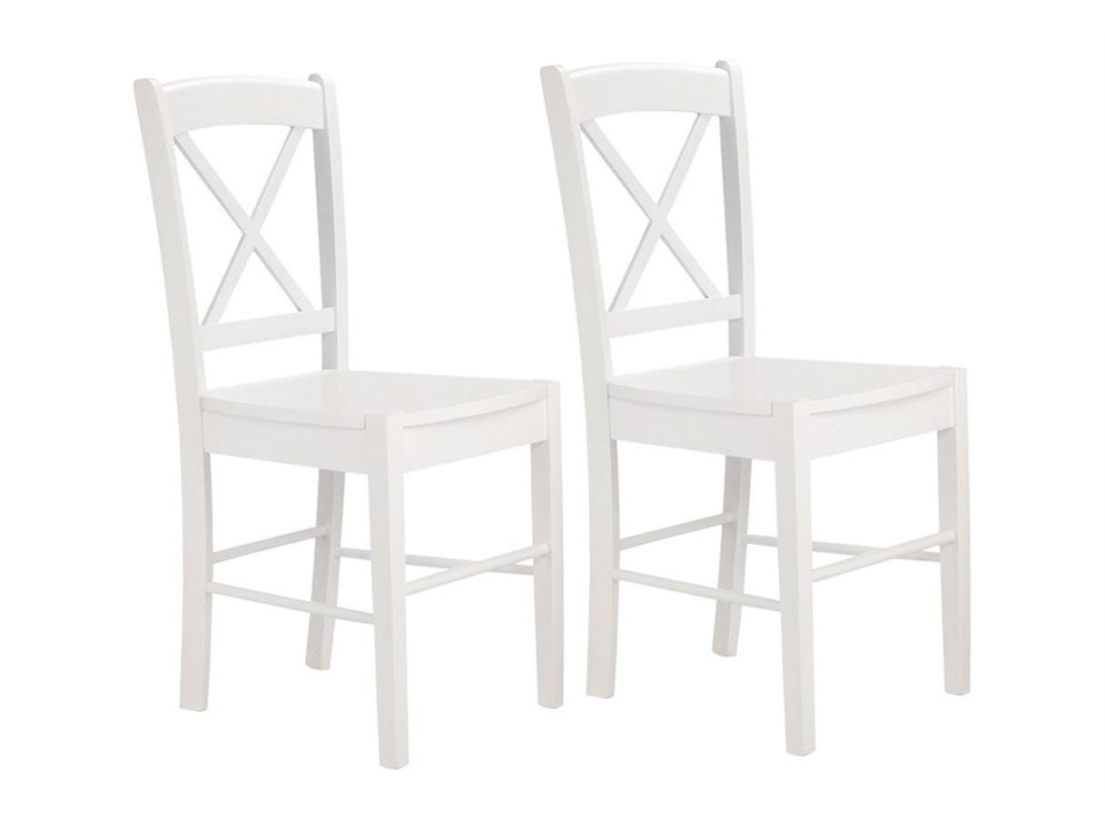Jídelní židle Treno (SET 2 ks), bílá