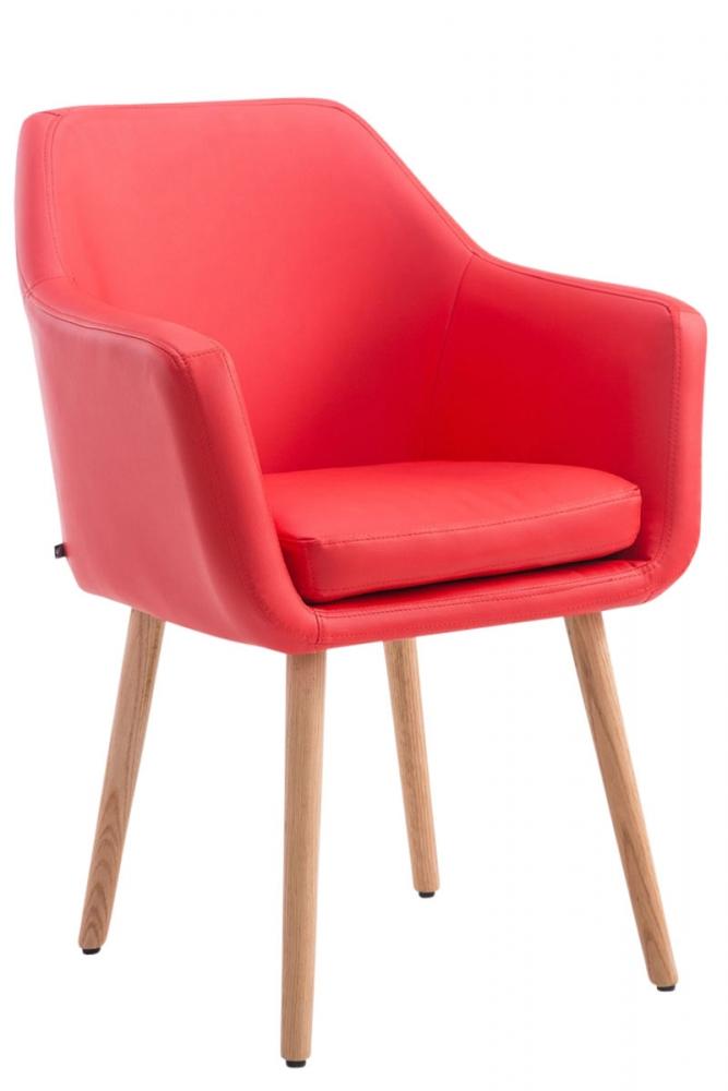 Jídelní židle Utrecht, červená
