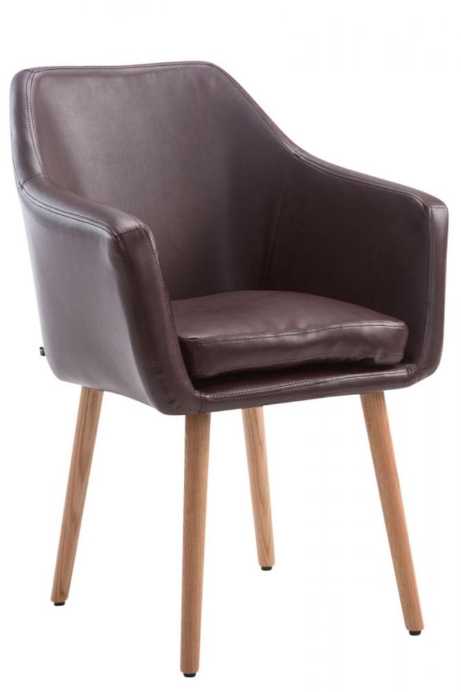 Jídelní židle Utrecht, červenohnědá