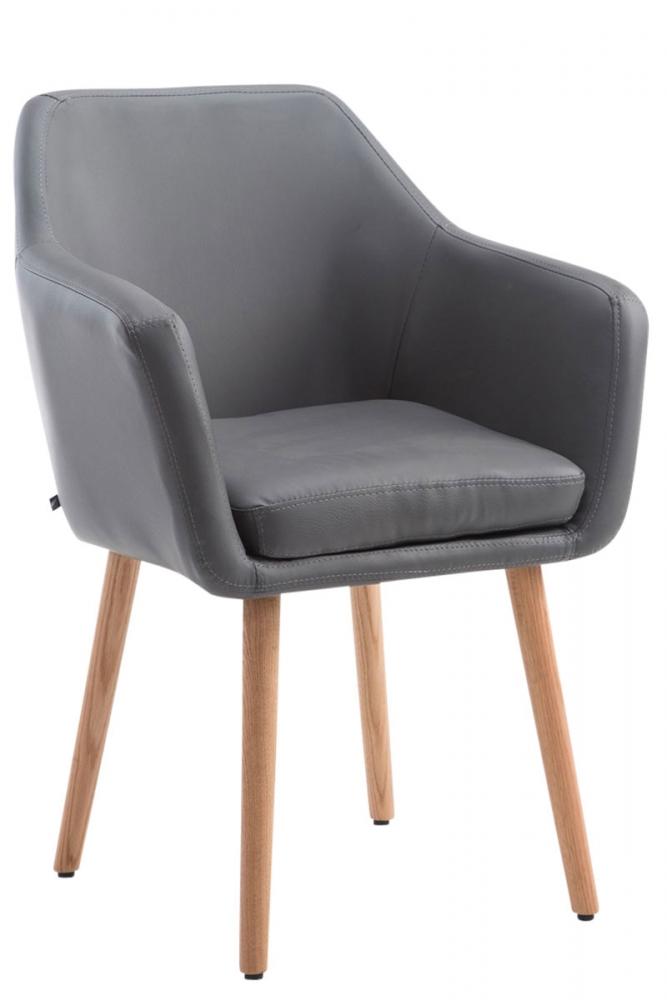 Jídelní židle Utrecht, šedá