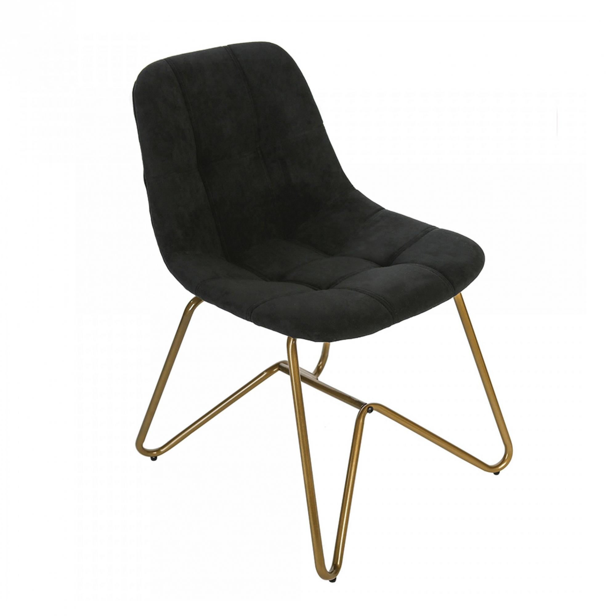 Jídelní židle Velvet, černá