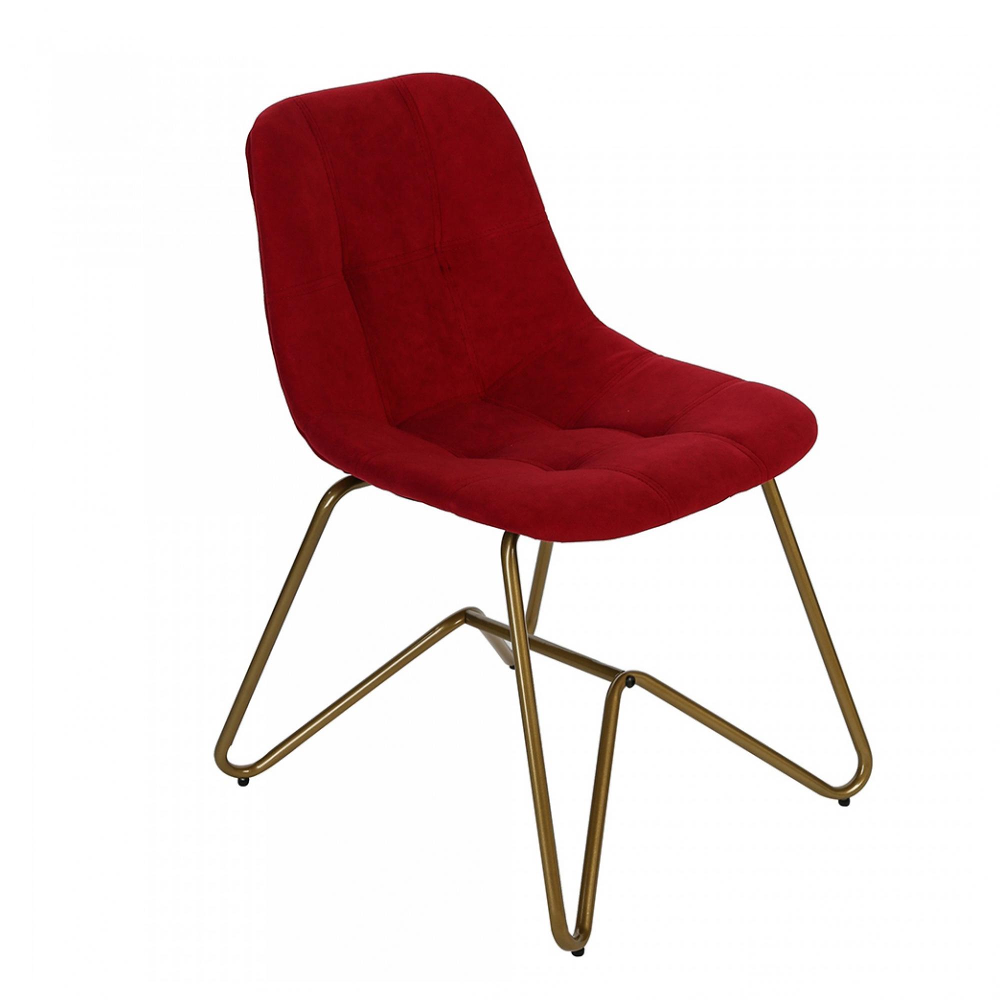 Jídelní židle Velvet, červená