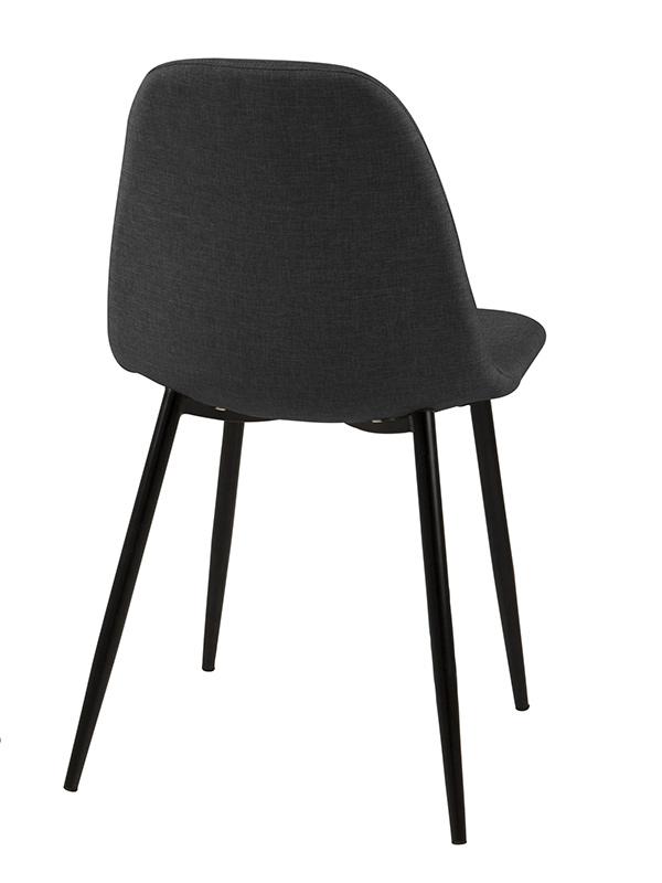 Jídelní židle Wanda (SET 4 ks), šedá