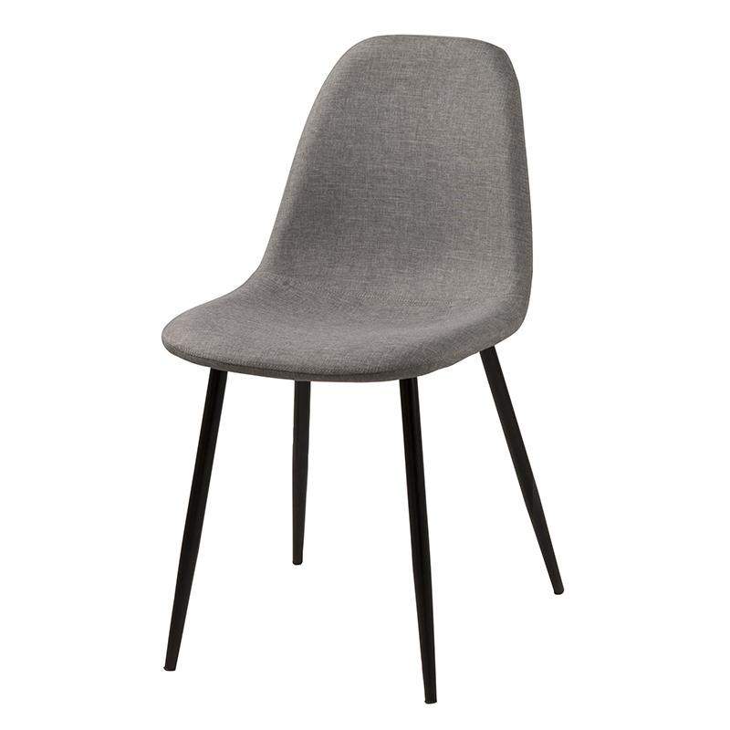 Jídelní židle Wanda (SET 4 ks), světle šedá