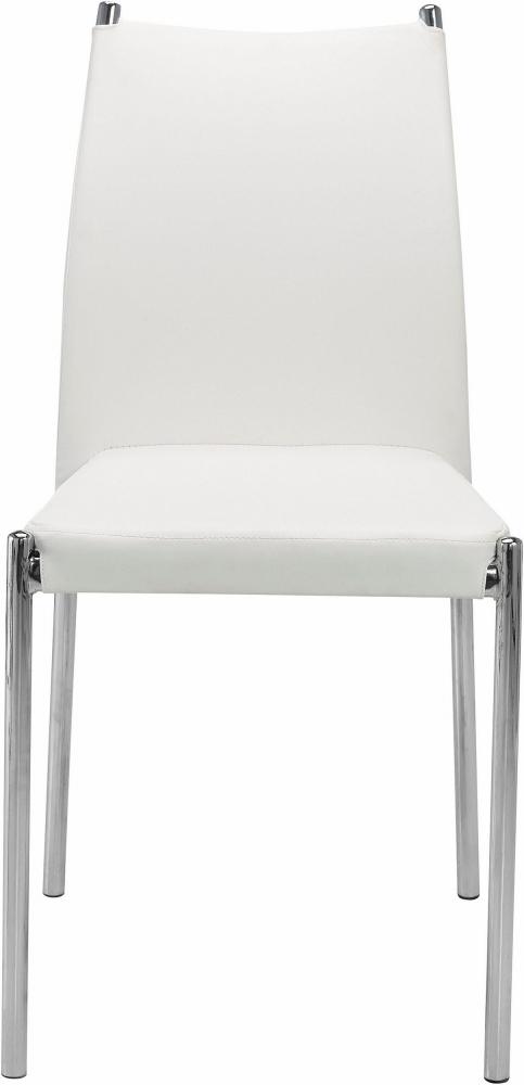 Jídelní židle Zunu (SET 4 ks), bílá