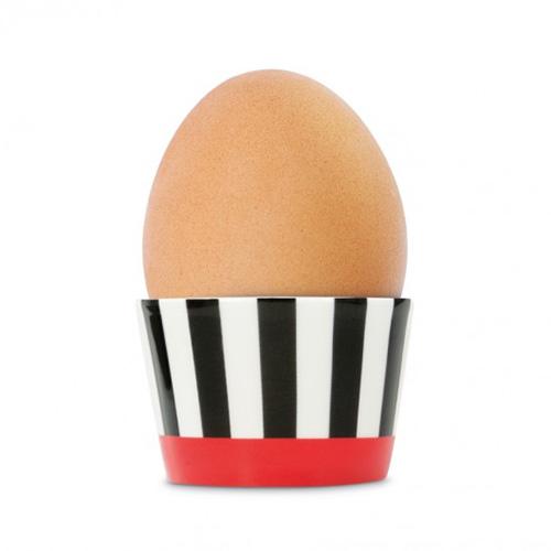 Kalíšek na vajíčko Black Stripes