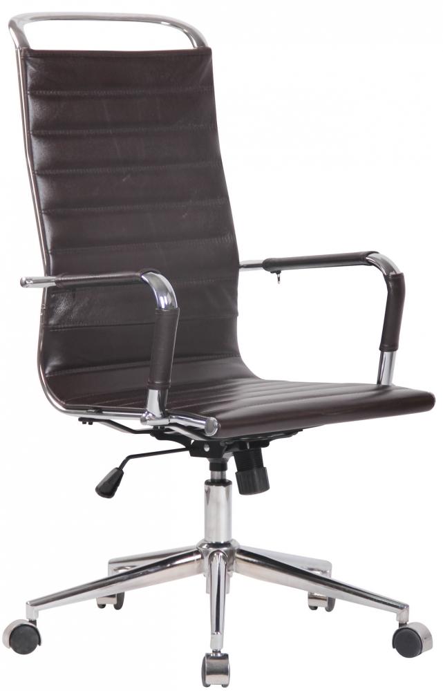Kancelářská židle Barn, hnědá