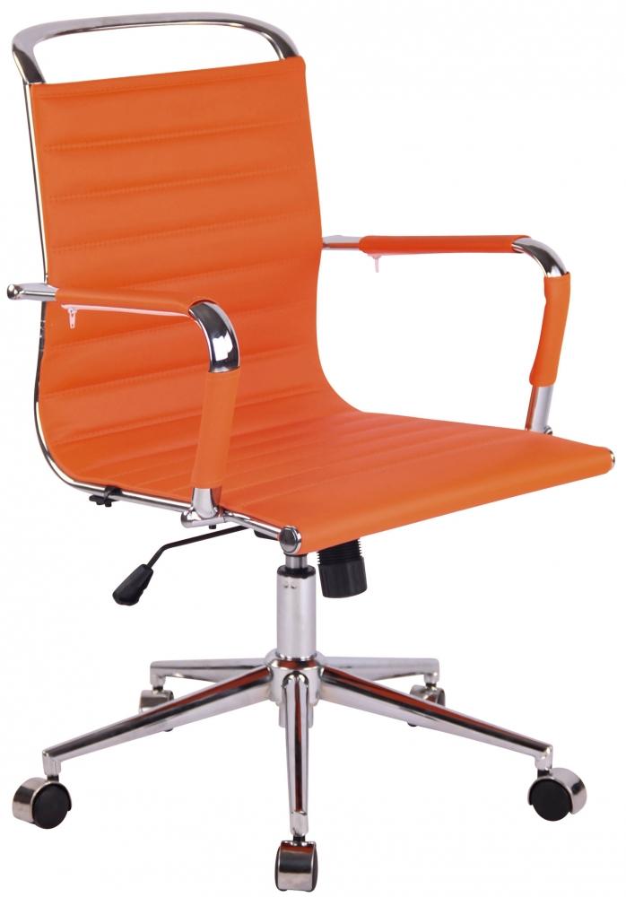 Kancelářská židle Barsie, oranžová