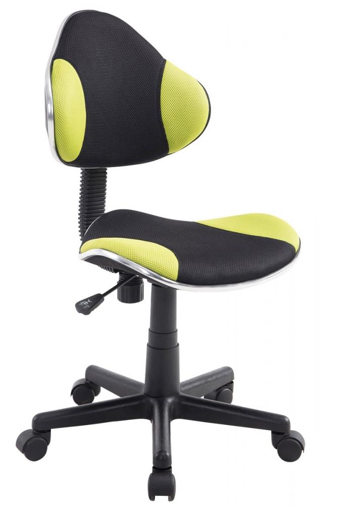 Kancelářská židle Basty, černá / zelená