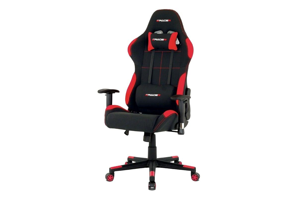 Kancelářská židle Breno, červená