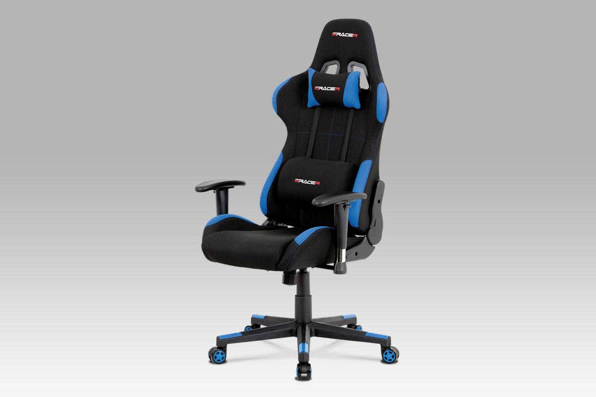 Kancelářská židle Breno, modrá