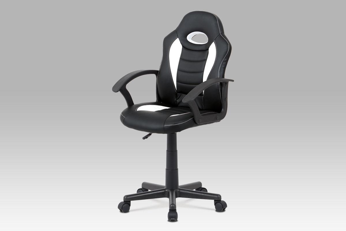 Kancelářská židle Dave, černá / bílá