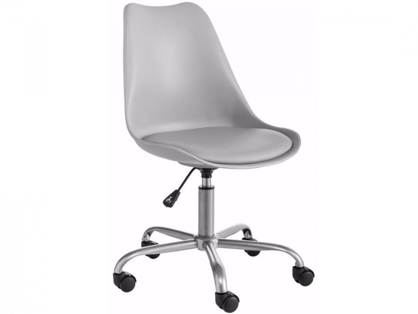 Kancelářská židle Denny, šedá