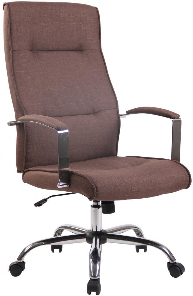 Kancelářská židle Donna, hnědá