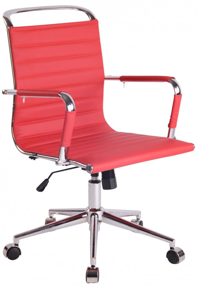 Kancelářská židle Elen, červená
