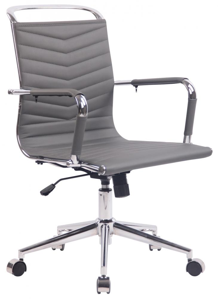 Kancelářská židle Elerta, šedá