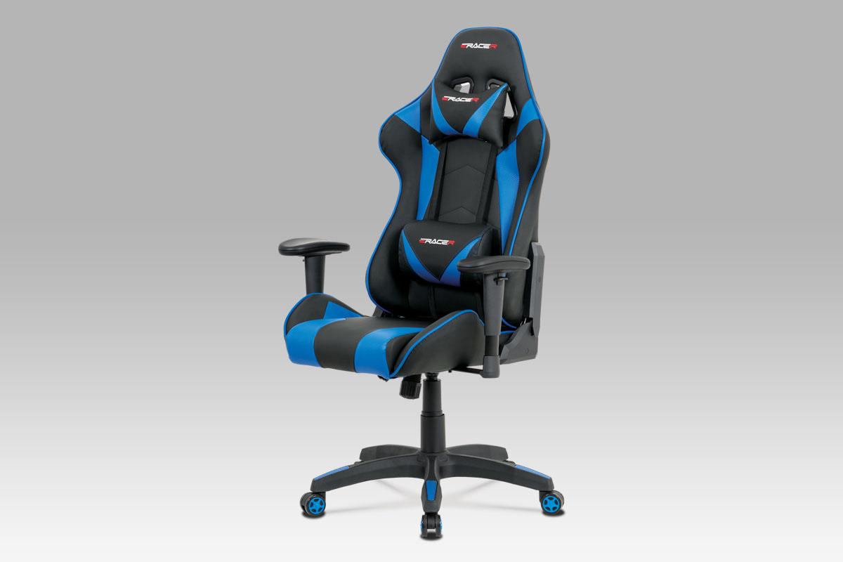 Kancelářská židle Elson, modrá