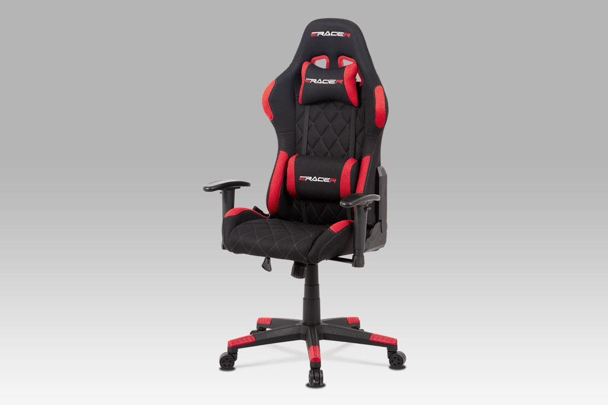 Kancelářská židle Erwin, červená