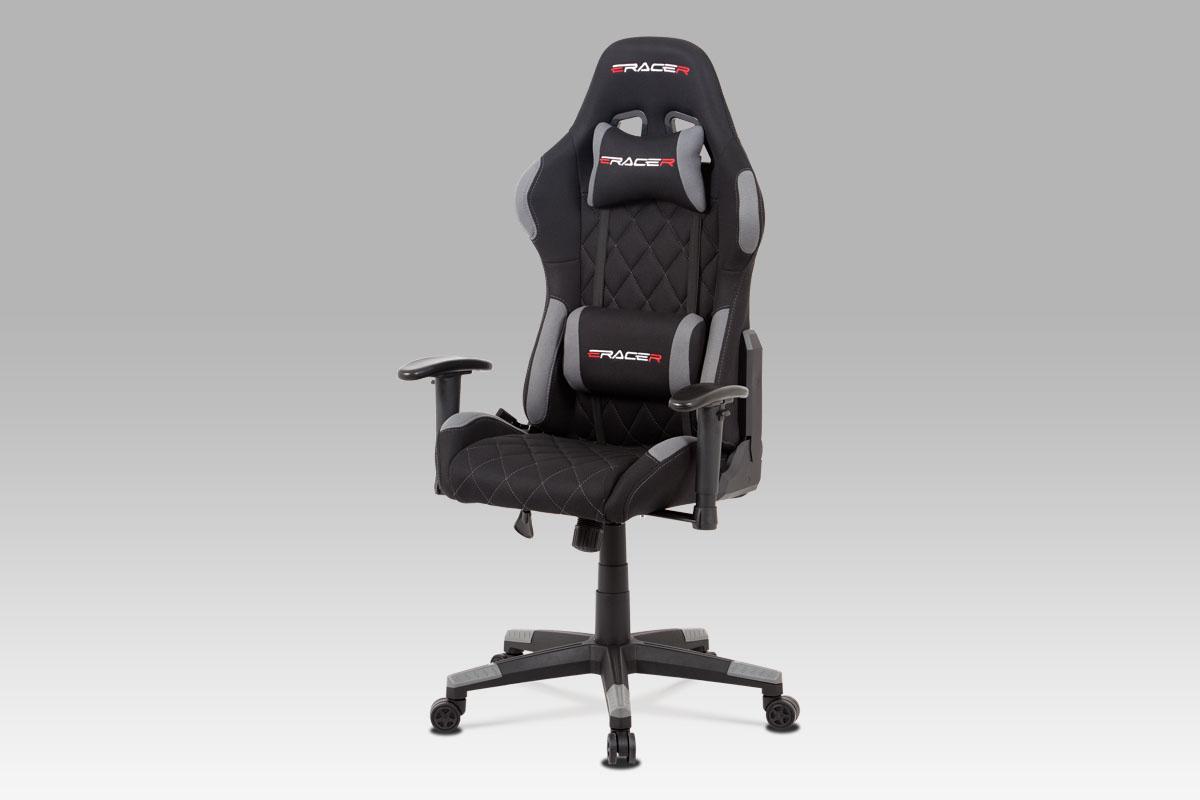 Kancelářská židle Erwin, šedá