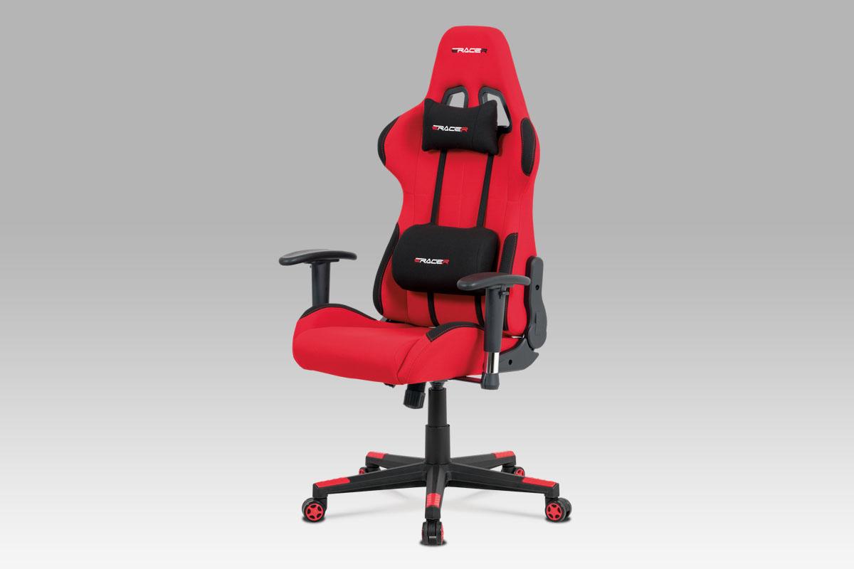 Kancelářská židle Esai, červená