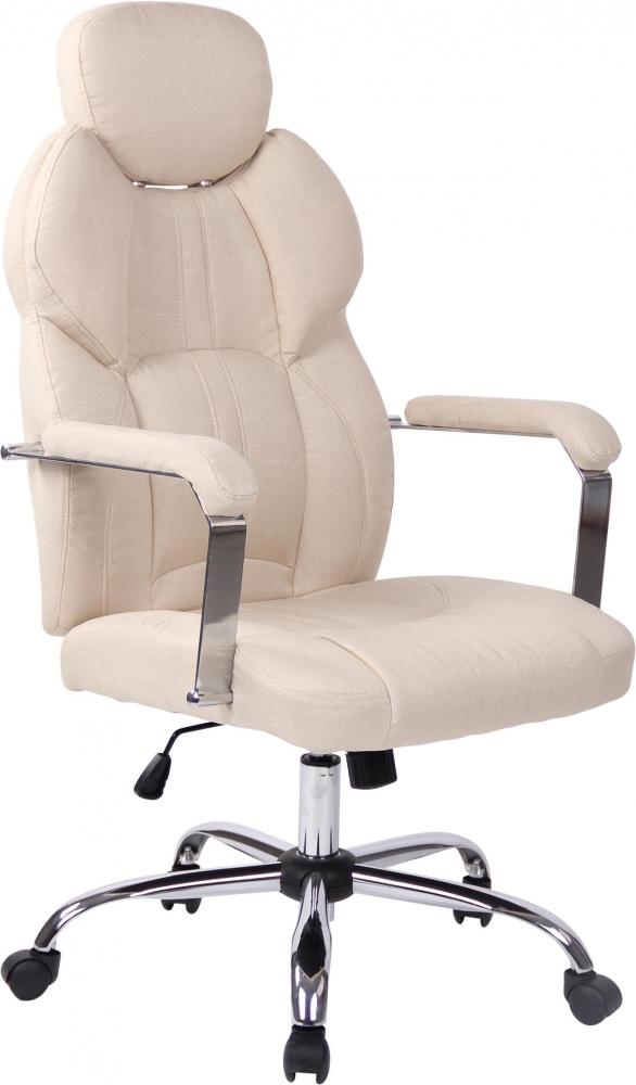 Kancelářská židle Gerda, krémová