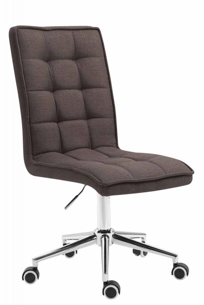 Kancelářská židle Gervin, tmavě šedá
