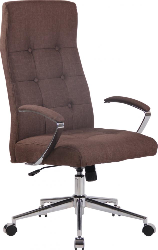 Kancelářská židle Gisela, hnědá