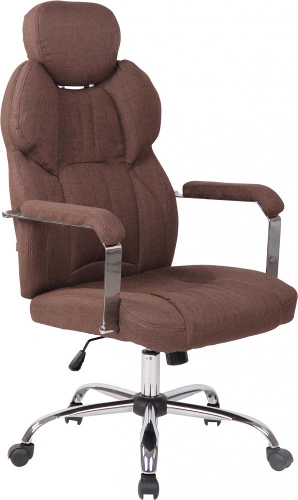 Kancelářská židle Gylen, hnědá