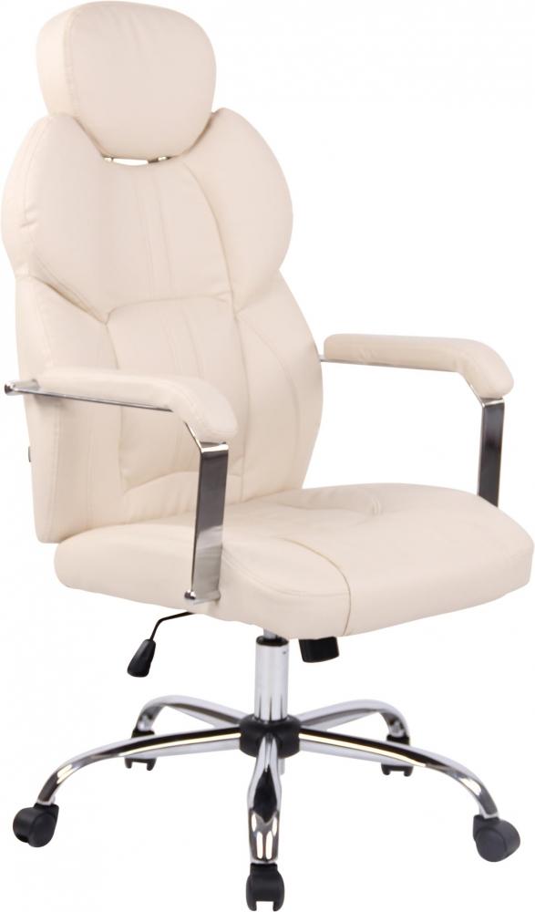 Kancelářská židle Gylen, krémová