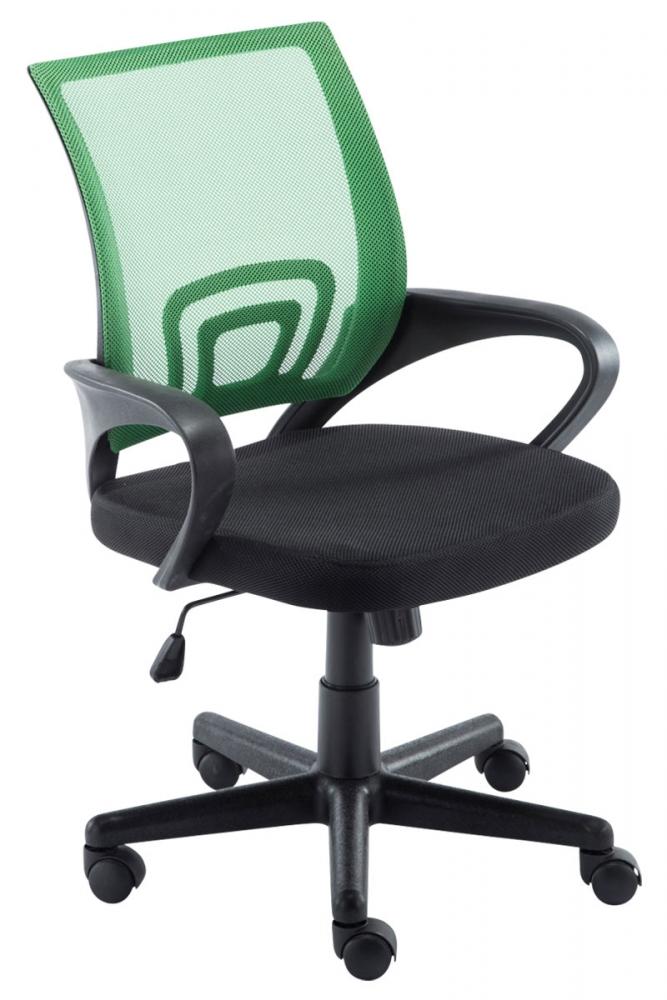 Kancelářská židle Hanna, černá / zelená