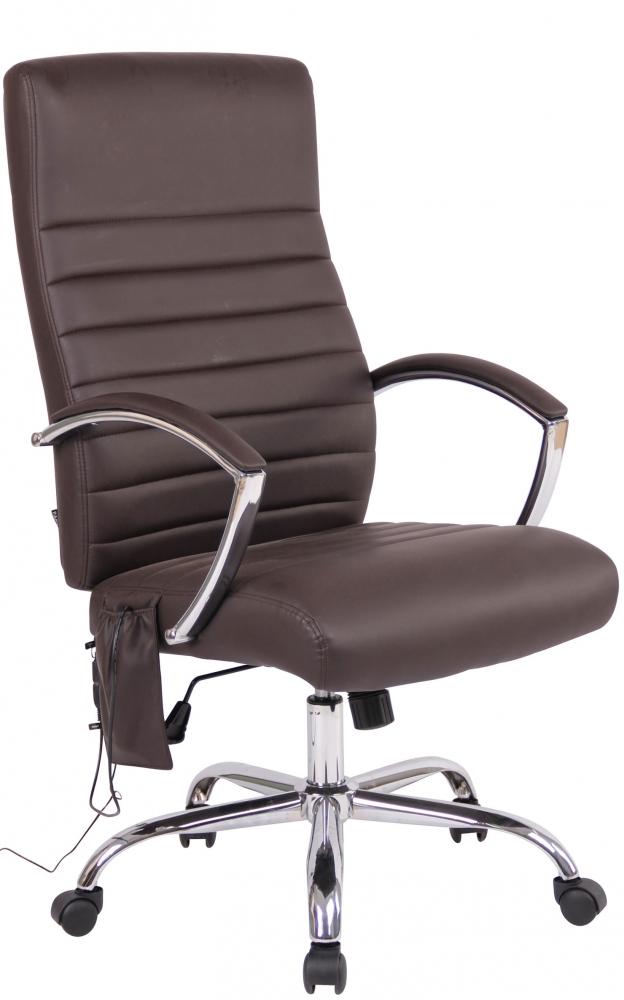 Kancelářská židle Hauren II, hnědá