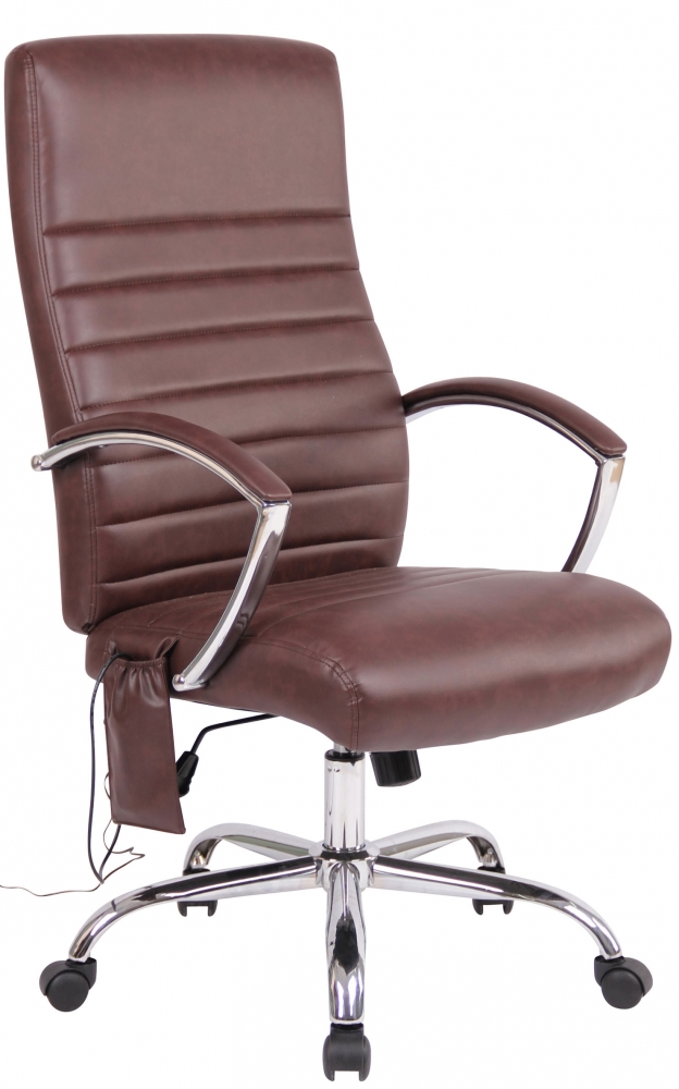 Kancelářská židle Herrmina, bordó