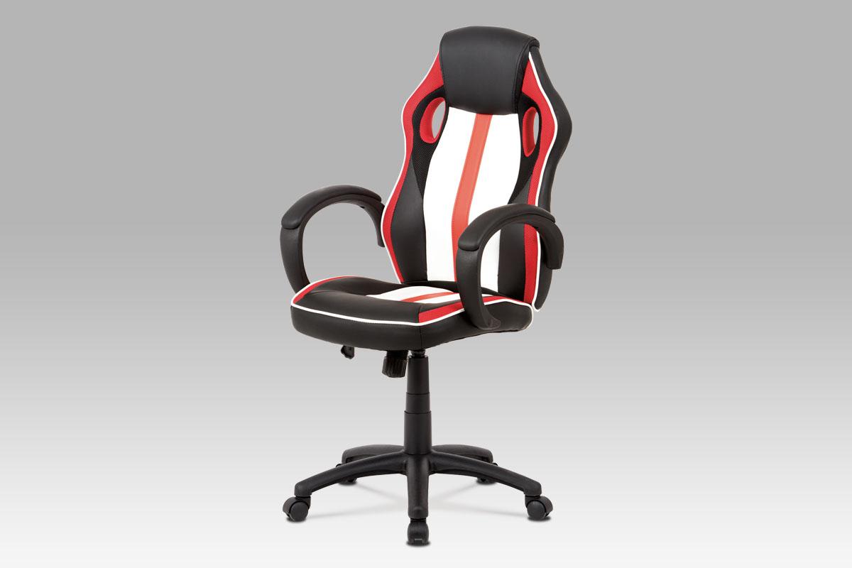 Kancelářská židle Ibar, červená