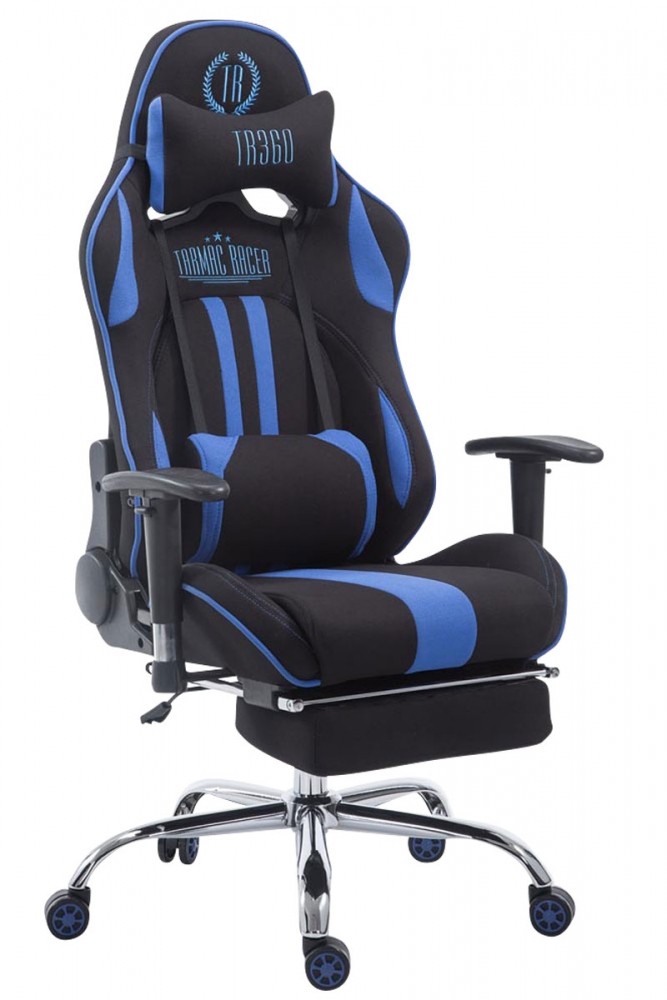 Kancelářská židle Inken, černá / modrá