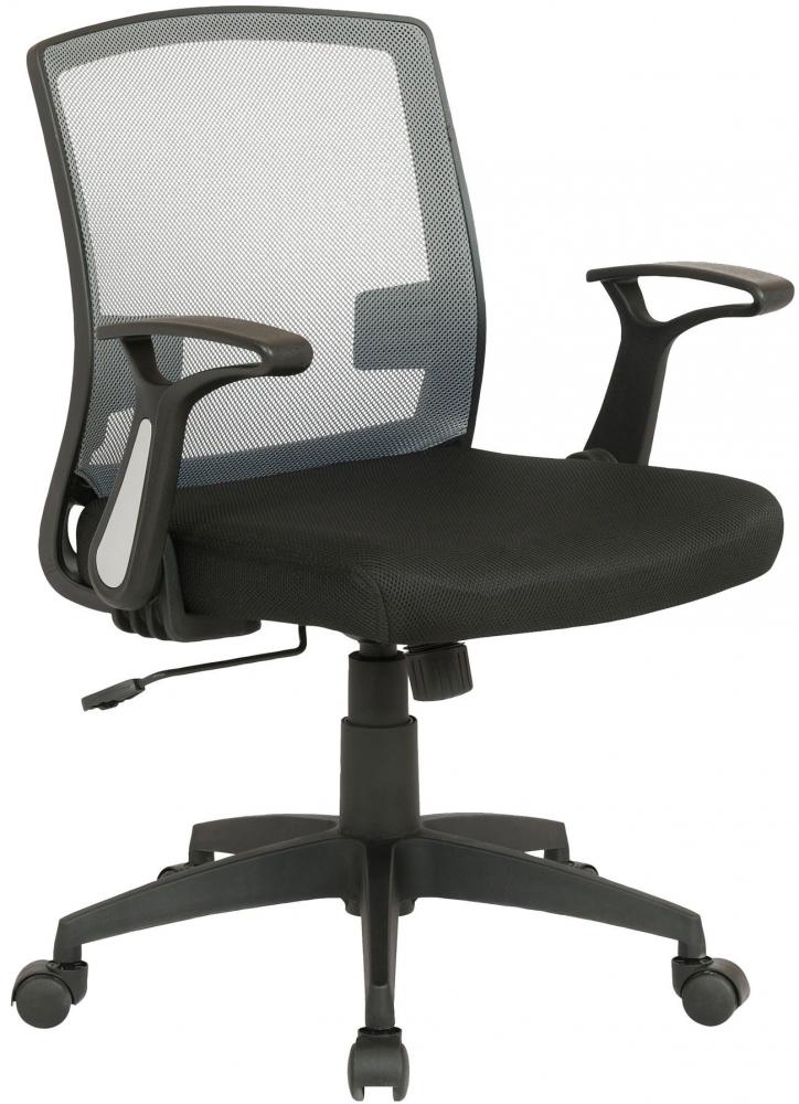 Kancelářská židle Irena, černá / šedá