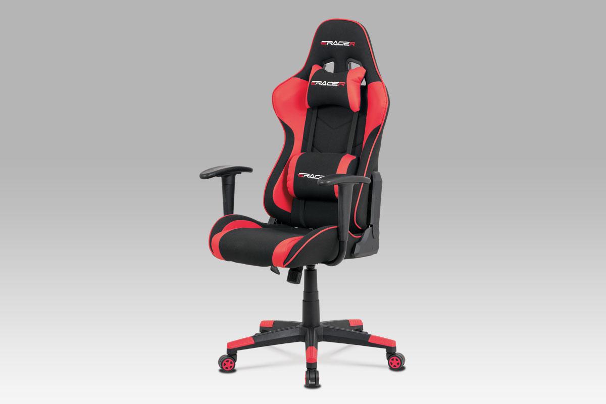 Kancelářská židle Jaime I, červená