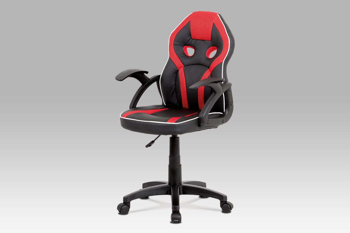 Kancelářská židle Jaime II, červená