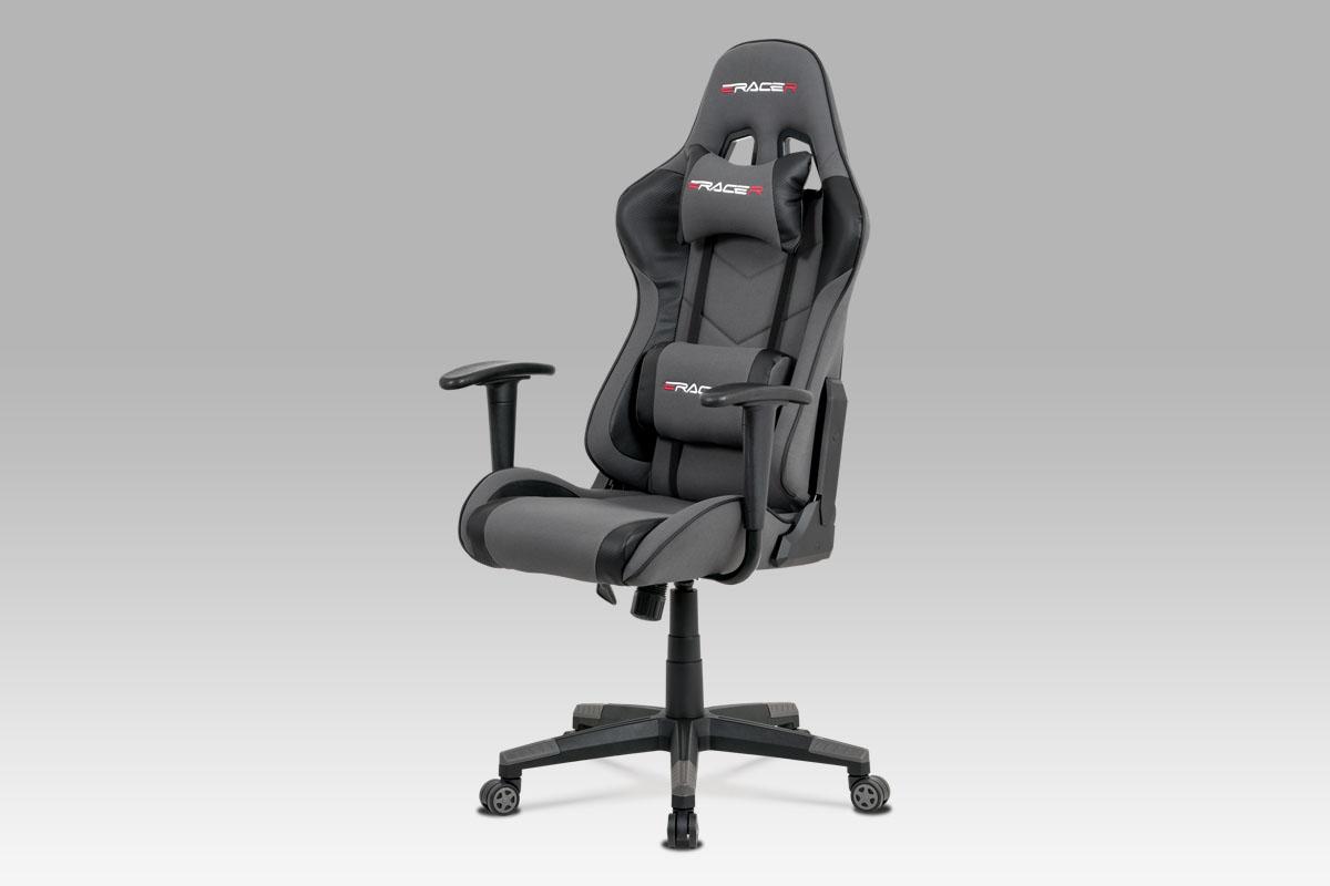 Kancelářská židle Jaime, šedá