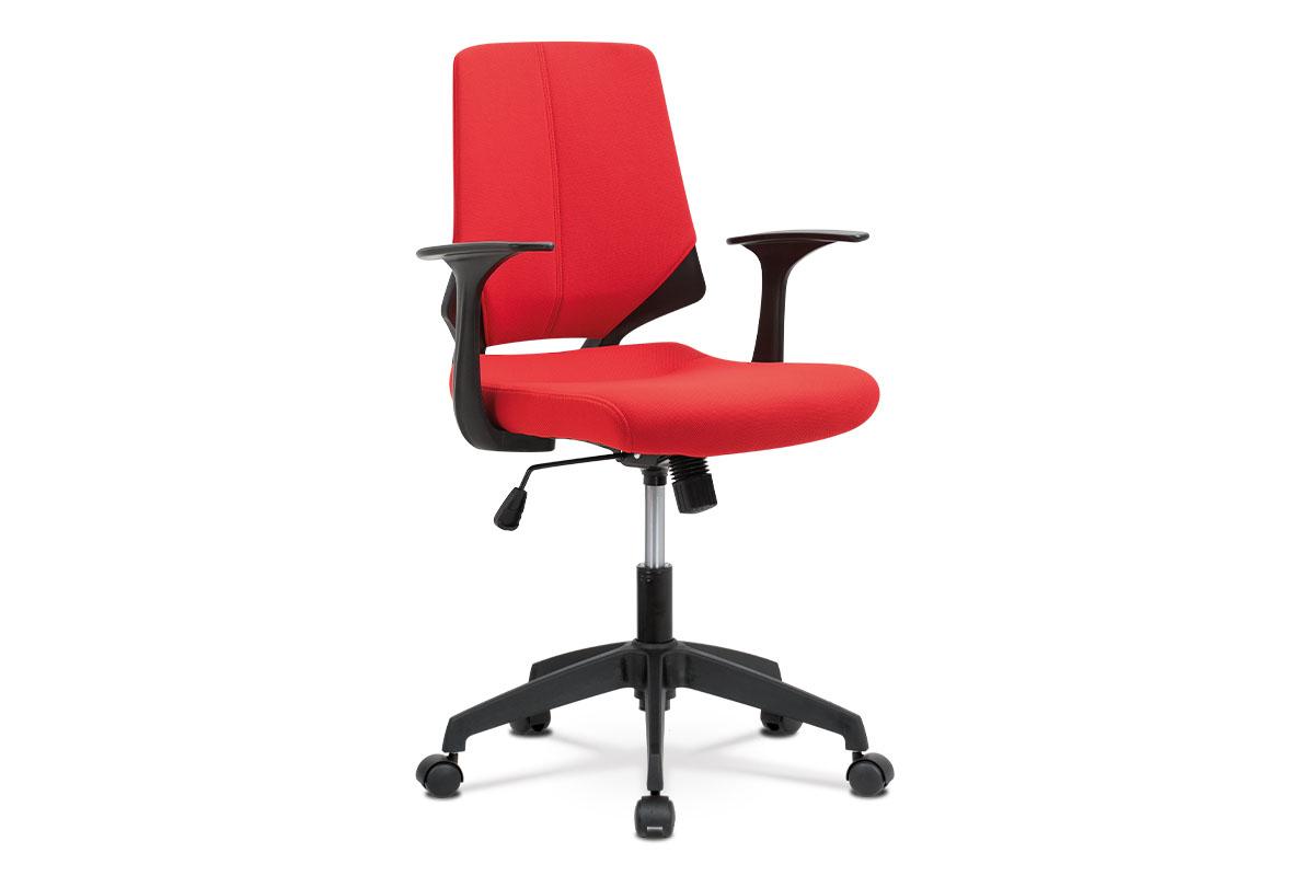 Kancelářská židle Keyla, červená