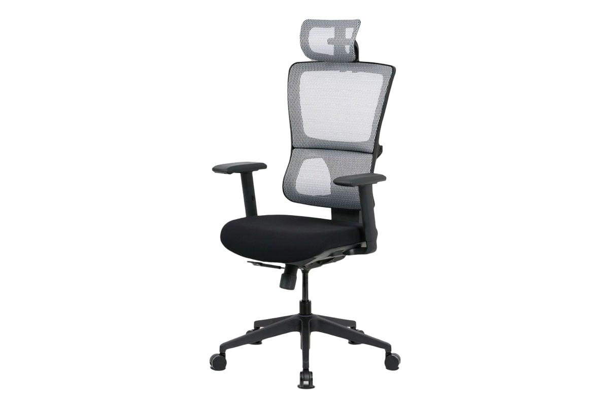 Kancelářská židle Khal, bílá / černá
