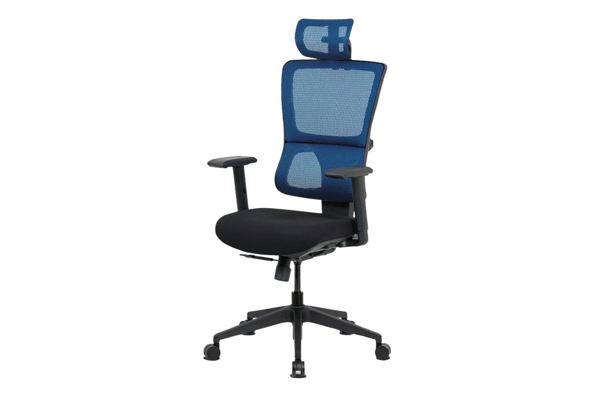 Kancelářská židle Khal, modrá / černá