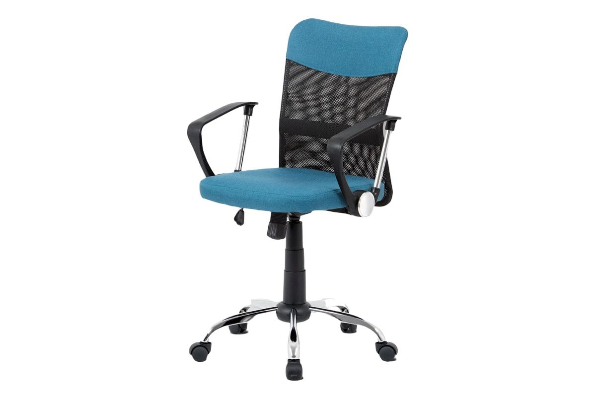 Kancelářská židle Lauren, modrá / černá
