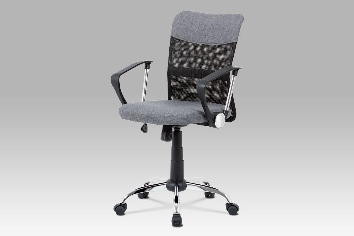 Kancelářská židle Lauren, šedá / černá
