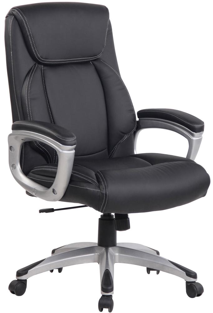 Kancelářská židle Leeston, černá
