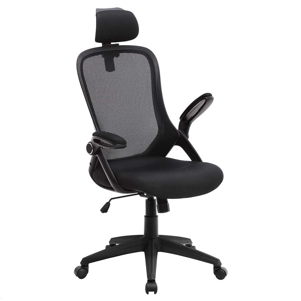 Kancelářská židle Leman, černá