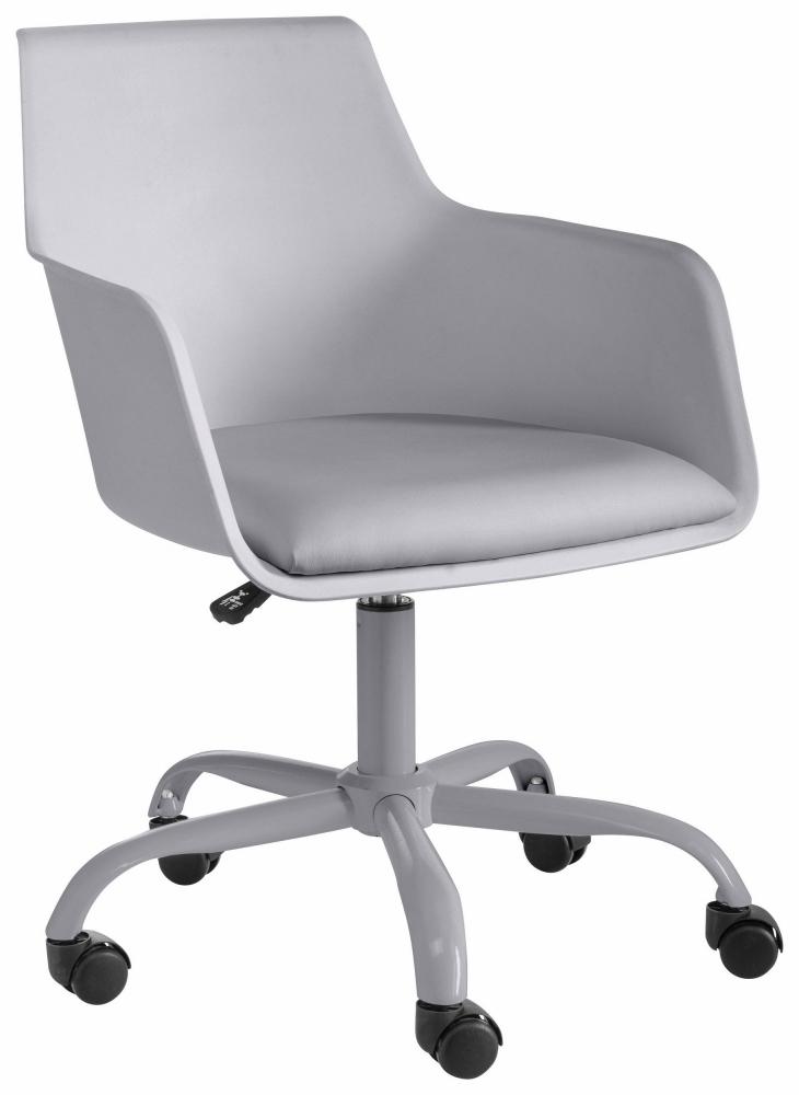 Kancelářská židle Lesli, šedá