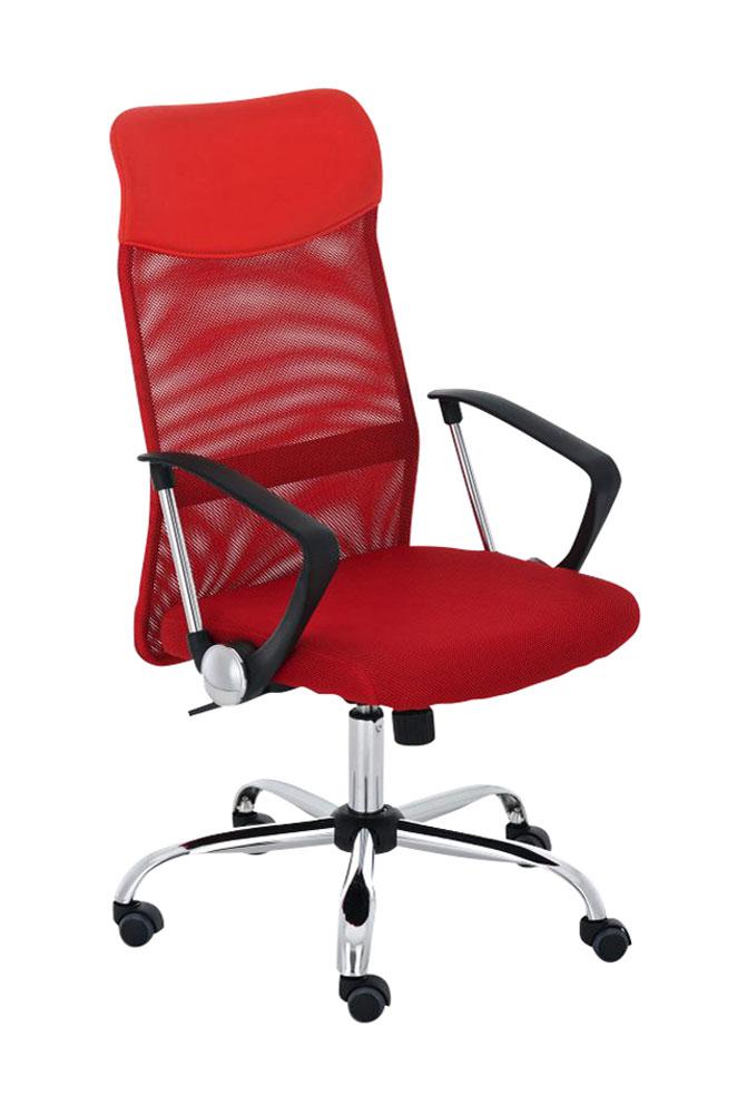 Kancelářská židle Lexus, červená