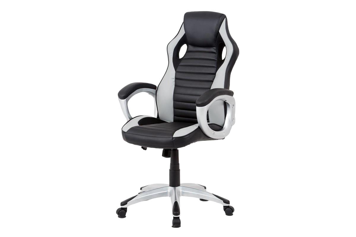 Kancelářská židle Lois, černá / šedá