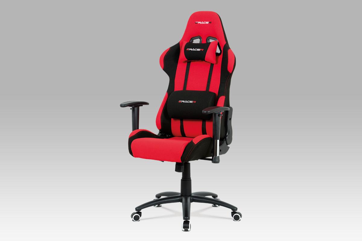 Kancelářská židle Maik, červená